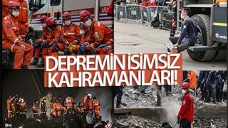 DEPREMİN İSİMSİZ KAHRAMANLARI!