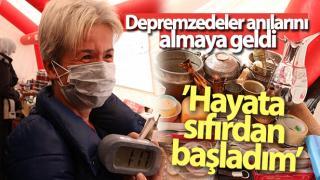 DEPREMZEDELER ANILARINI ALMAYA GELDİ!
