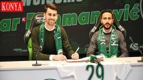 Konyaspor'un yeni transferi Amar Rahmanovic