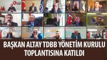 Başkan Altay: 'Baharla Birlikte Bir Rahatlama Ortamı Olacağını Ümit Ediyoruz'