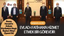 Büyükelçi Alagic Başkan Altay'ı Ziyaret Etti