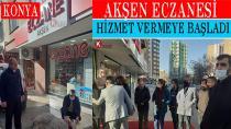 Serpil Zeynep Ak Şen Eczanesinin Açılışını Yaptı