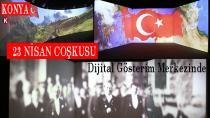 23 Nisan Coşkusu Dijital Gösterim Merkezinde Yaşatılıyor