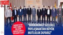 Başkan Altay, Kuzey Kıbrıslı Belediye Başkanlarıyla Bir Araya Geldi