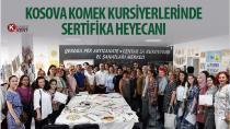 Kosova KOMEK Kursiyerlerinde Sertifika Heyecanı
