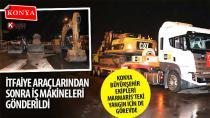 Konya Büyükşehir Ekipleri Marmaris'teki Yangın İçin de Görevde