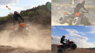 Streslerini ATV Motorla Atıyorlar