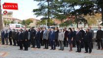 Yunak'ta Muhtarlar Haftası Törenle Kutlandı