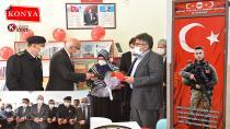 Şehit Abdullah Taha Koç Kütüphanesinin Açılışı Törenle Gerçekleştirildi